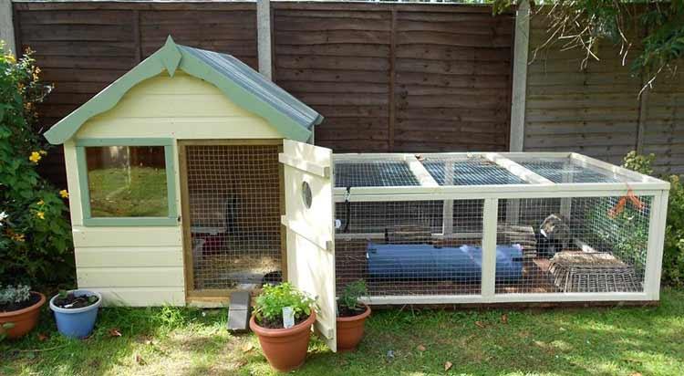 10 Diy Rabbit Hutch Plan Step By Step The Pets Advisors